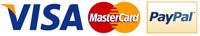 Mastercard VISA IDEAL PayPal